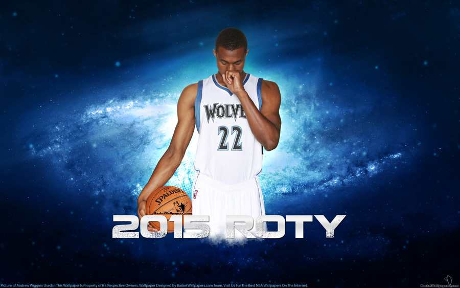 Andrew Wiggins 2015 NBA ROTY Wallpaper