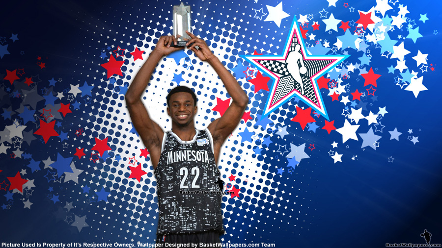 Andrew Wiggins 2015 NBA Rising Stars MVP Wallpaper