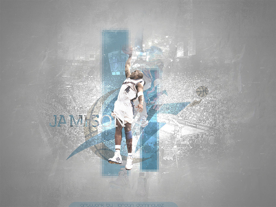 Antawn Jamison Dunk Wallpaper