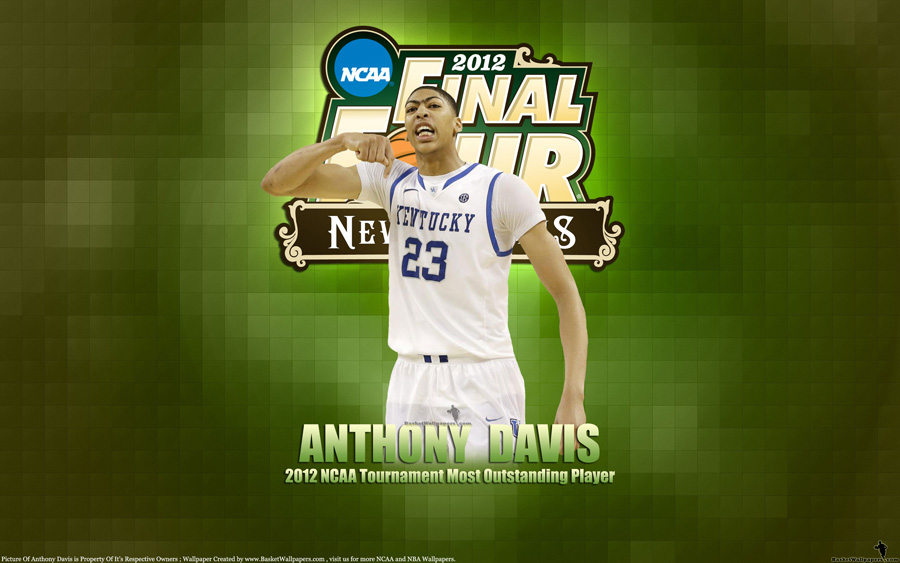 Anthony Davis 2012 NCAA Final Four 2560x1600 Wallpaper