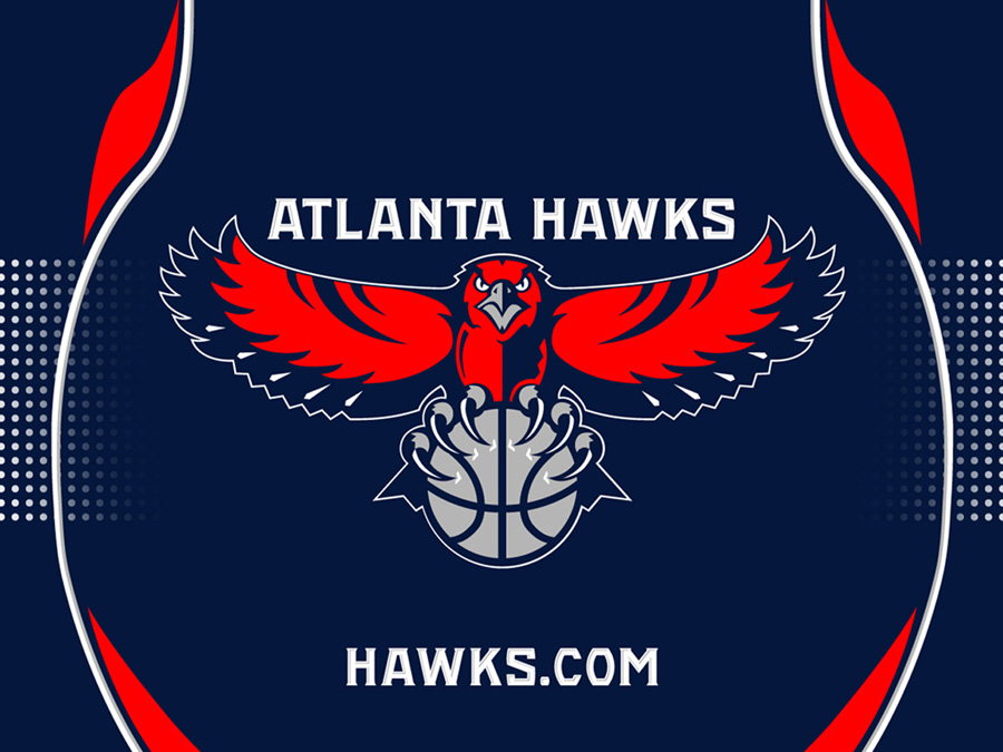 Atlanta Hawks Logo Wallpaper