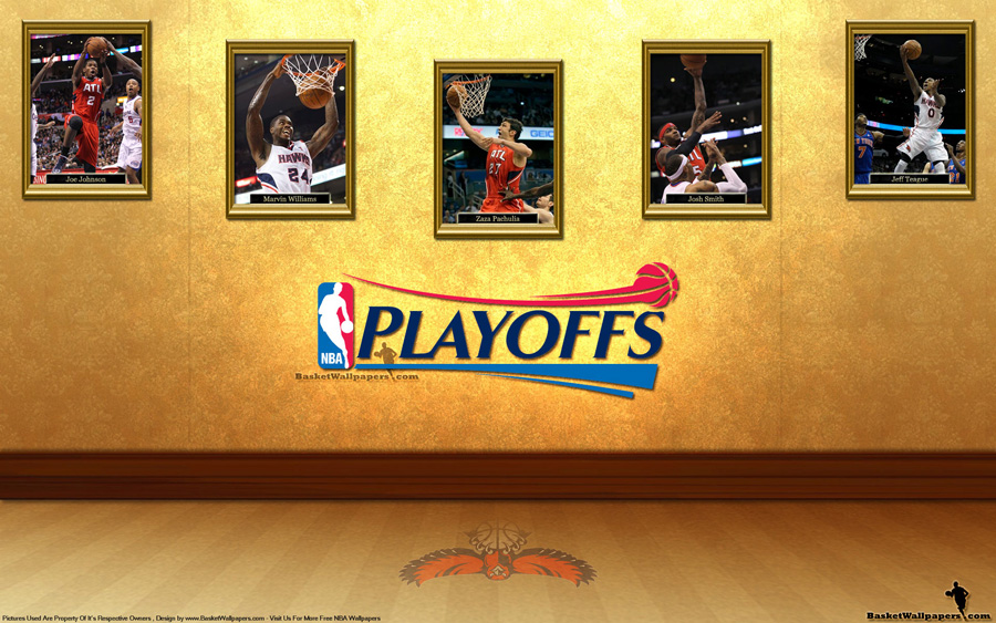 Atlanta Hawks See You In Playoffs 2012 Wallpaper