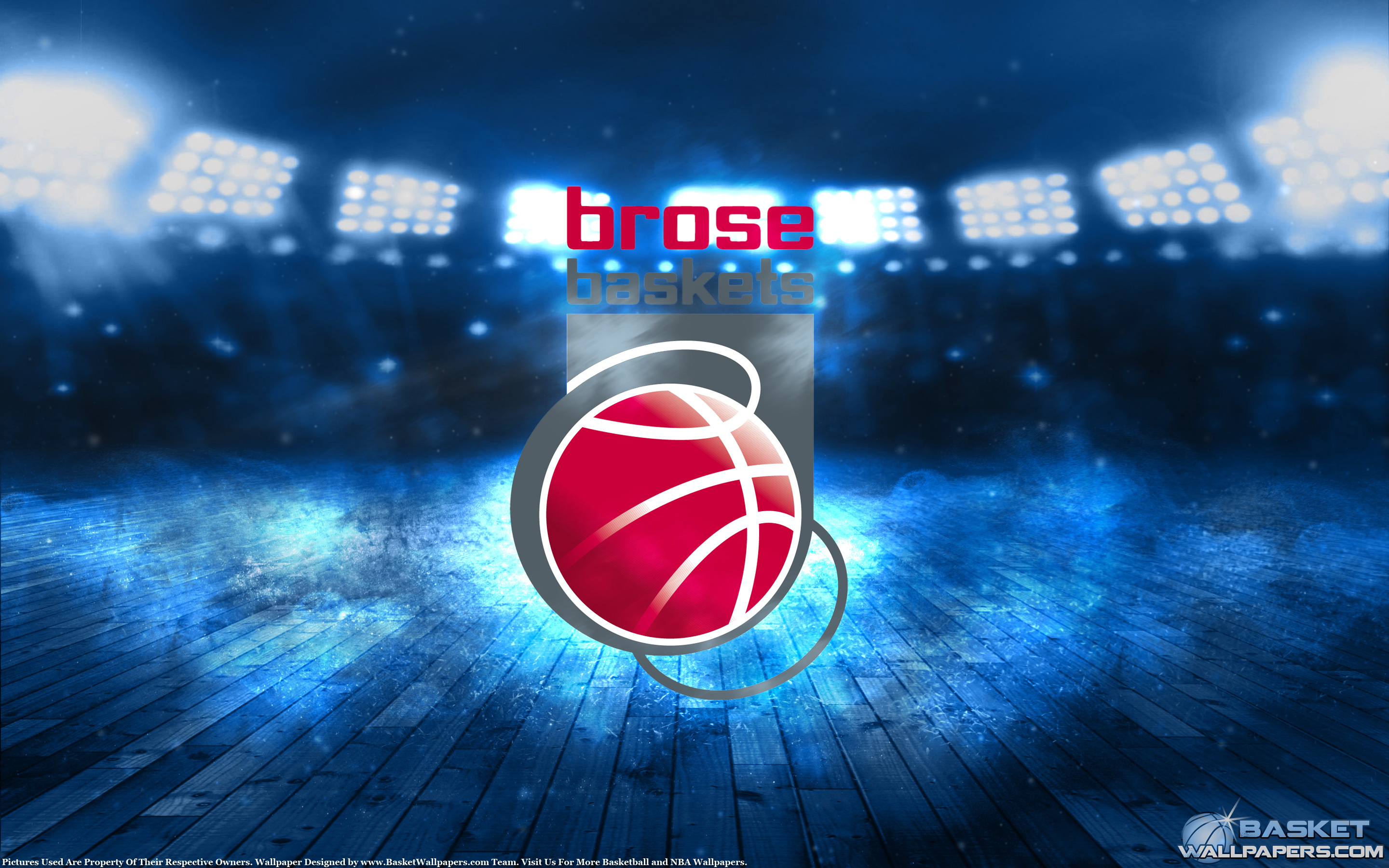 Brose Baskets Bamberg 2015 Champions Wallpaper