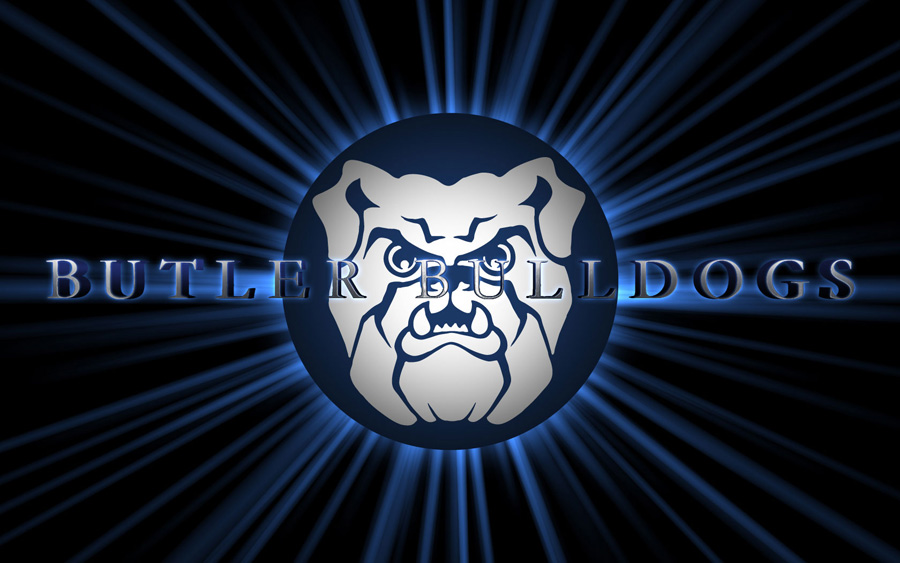Butler Bulldogs Logo Widescreen Wallpaper