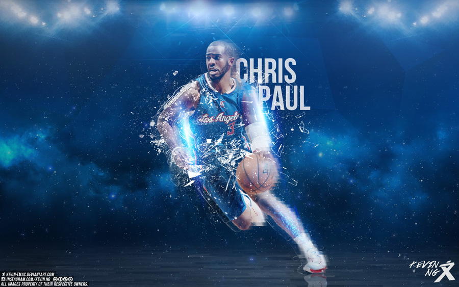 CP3 2015 NBA Playoffs Wallpaper