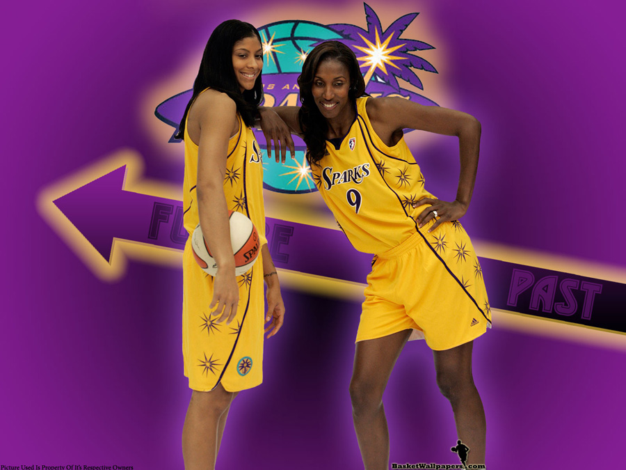 Candace parker wallpapers basketball wallpapers at candace parker and lisa leslie wallpaper voltagebd Choice Image