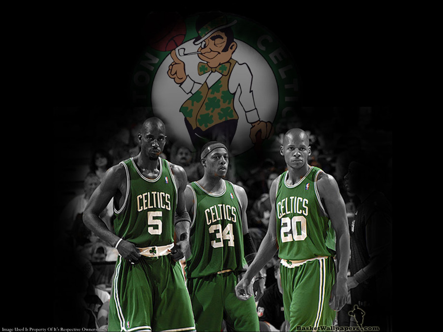 Celtics Garnett Pierce Allen Wallpaper