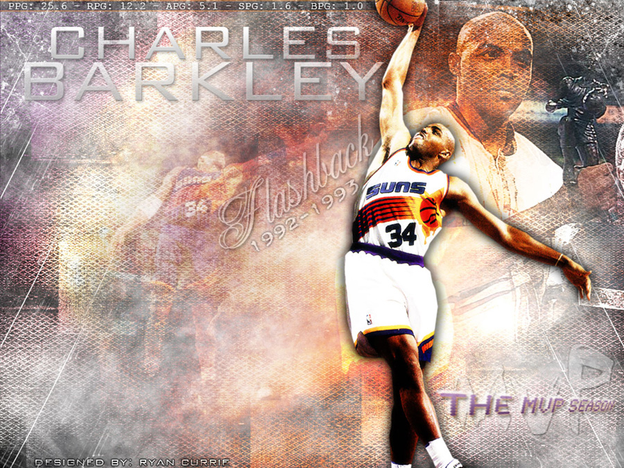 Charles Barkley 1993 MVP Wallpaper