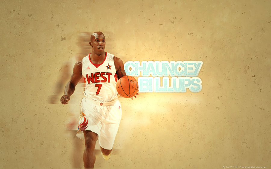 Chauncey Billups All Star 2010 Widescreen Wallpaper