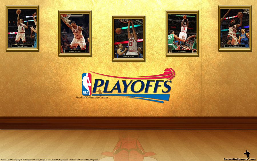 Chicago Bulls See You In Playoffs 2012 Wallpaper