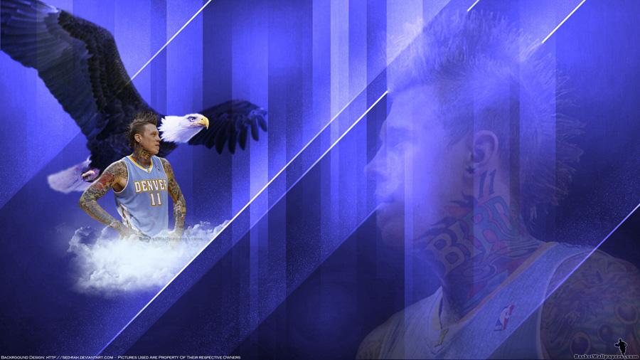 Chris Andersen Nuggets 2011 Widescreen Wallpaper