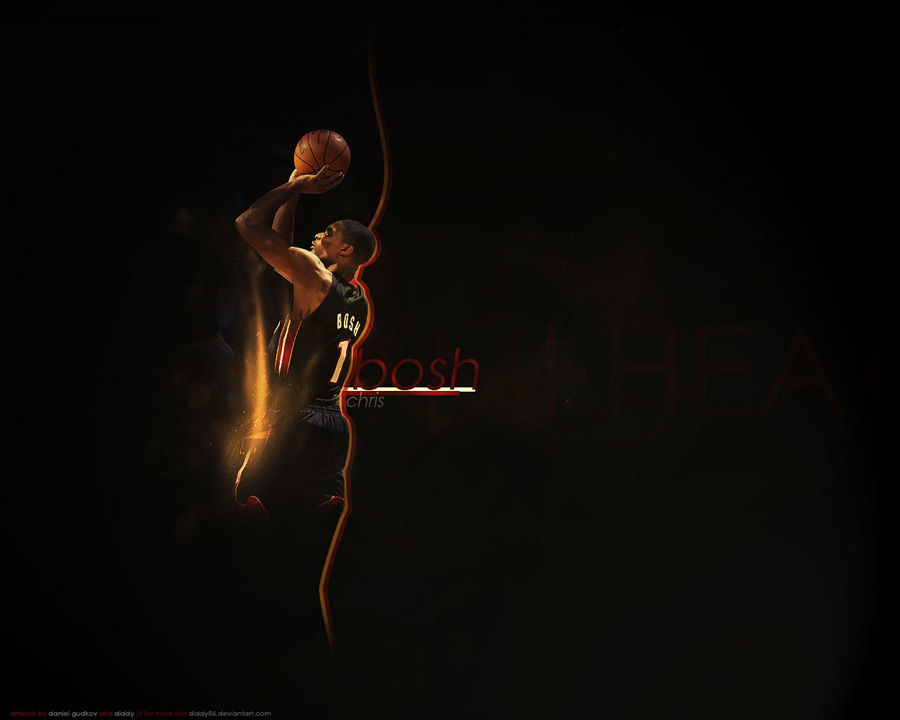 Chris Bosh Miami Heat Wallpaper