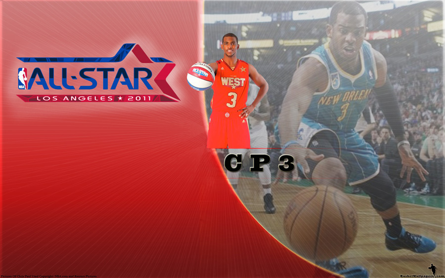 Chris Paul All-Star 2011 Widescreen Wallpaper