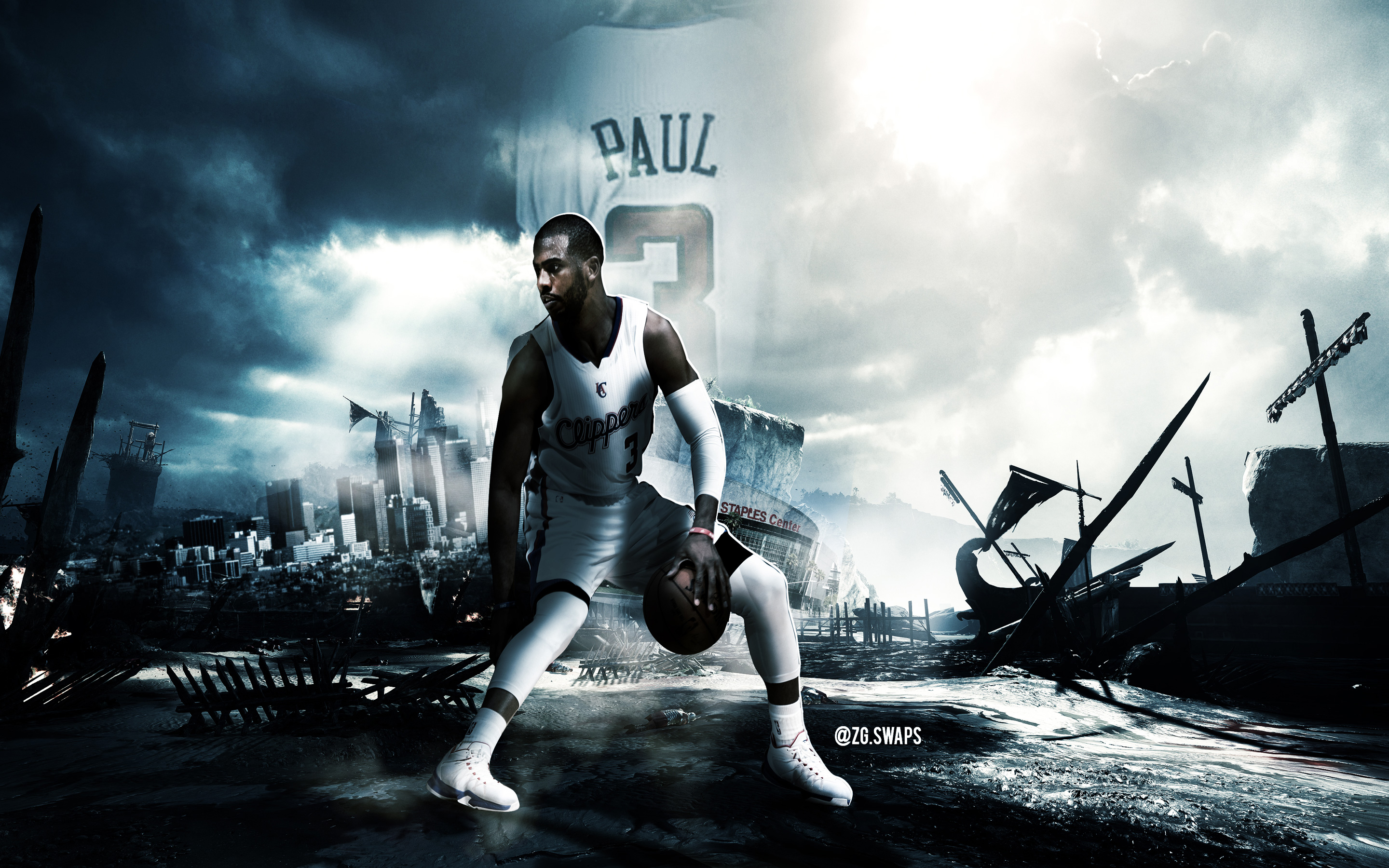Chris Paul Clippers 2880x1800 Wallpaper