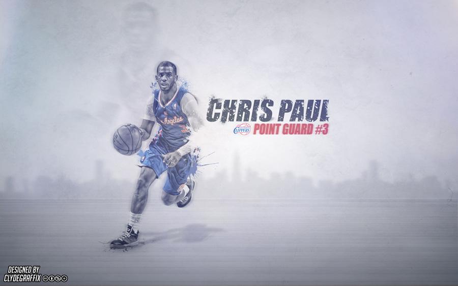Chris Paul LA Clippers 2014 Wallpaper