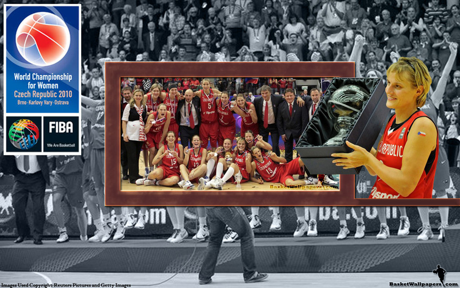 Czech Republic FIBA Women World Championship 2010 Silver Medal Wallpaper