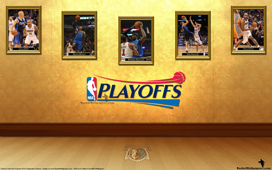 Dallas Mavericks See You In Playoffs 2012 Wallpaper
