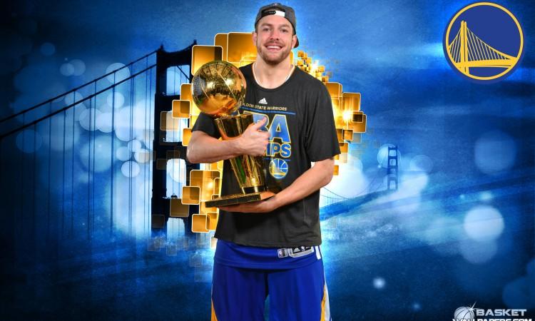 David Lee 2015 NBA Champion Wallpaper