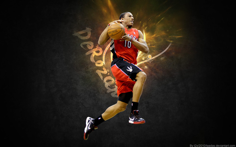 DeMar DeRozan Toronto Widescreen Wallpaper