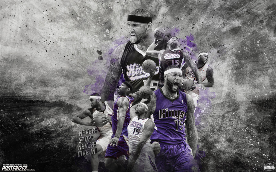 DeMarcus Cousins Kings 2015 Wallpaper