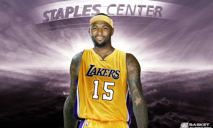 DeMarcus Cousins LA Lakers 1920x1200 Wallpaper