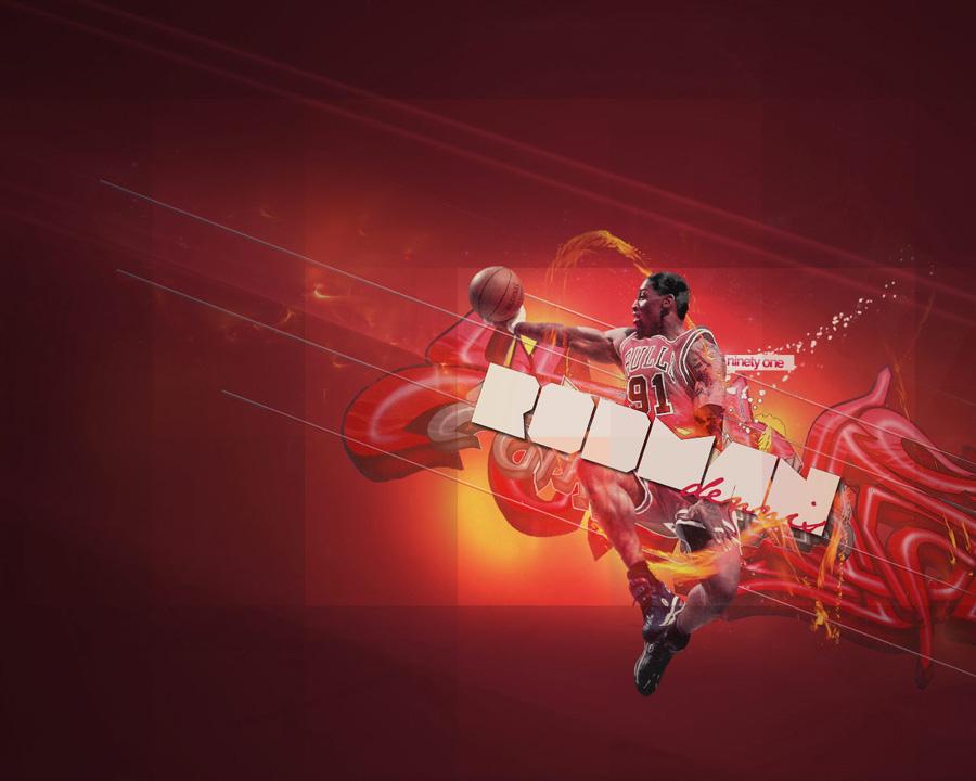 Dennis Rodman Bulls Wallpaper