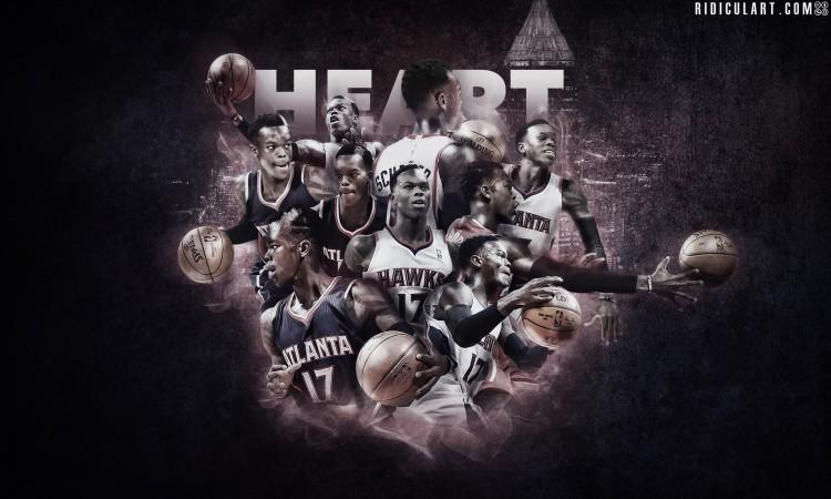 Dennis Schroder 2015 Atlanta Hawks Wallpaper