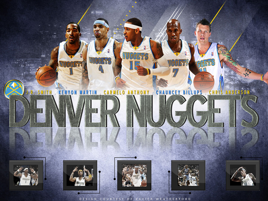 Denver Nuggets 2010 Team Wallpaper