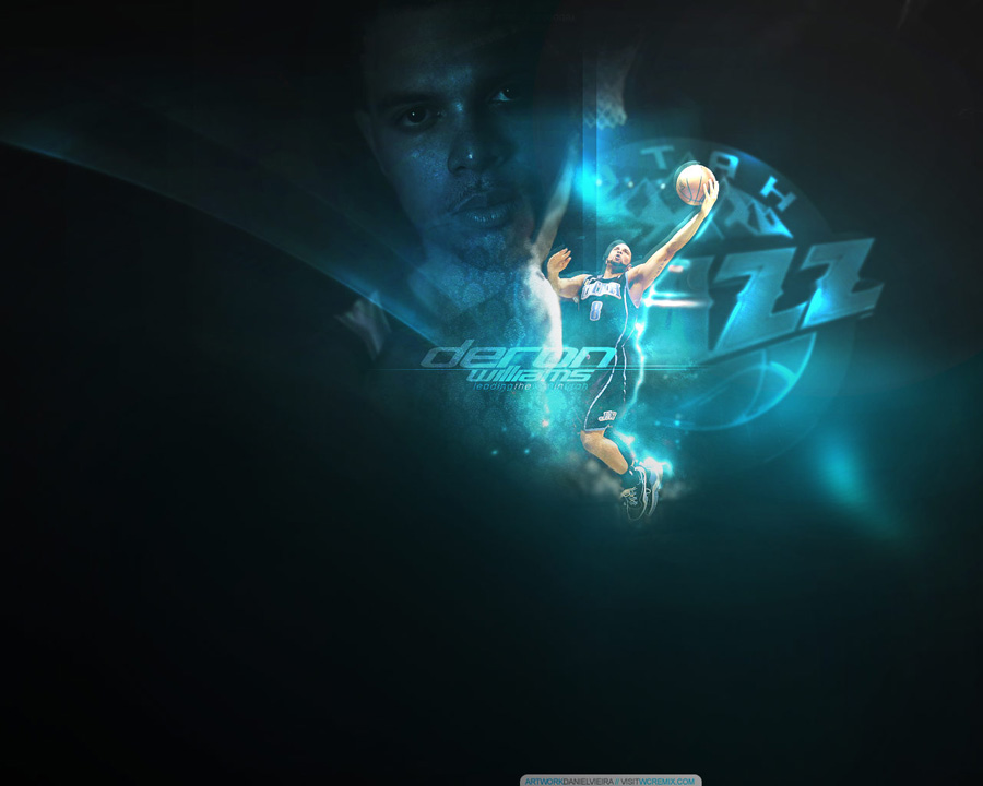 Deron Williams Layup Wallpaper