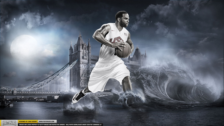 Deron Williams Olympics 2012 1920x1080 Wallpaper