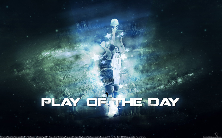 Derrick Rose 8. May 2015 Play of The Day Wallpaper