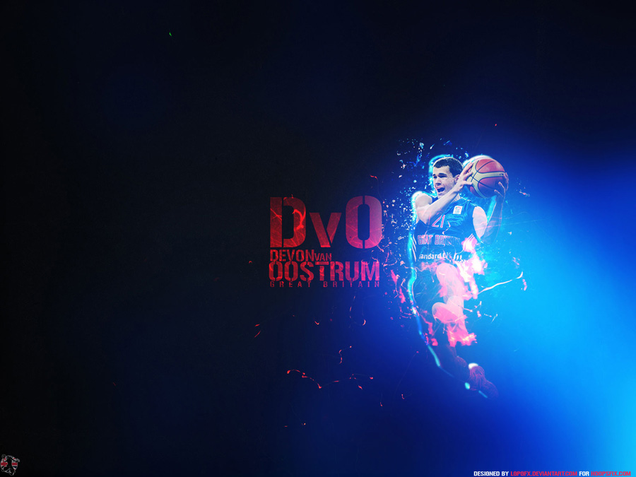 Devon Van Oostrum UK Team Wallpaper