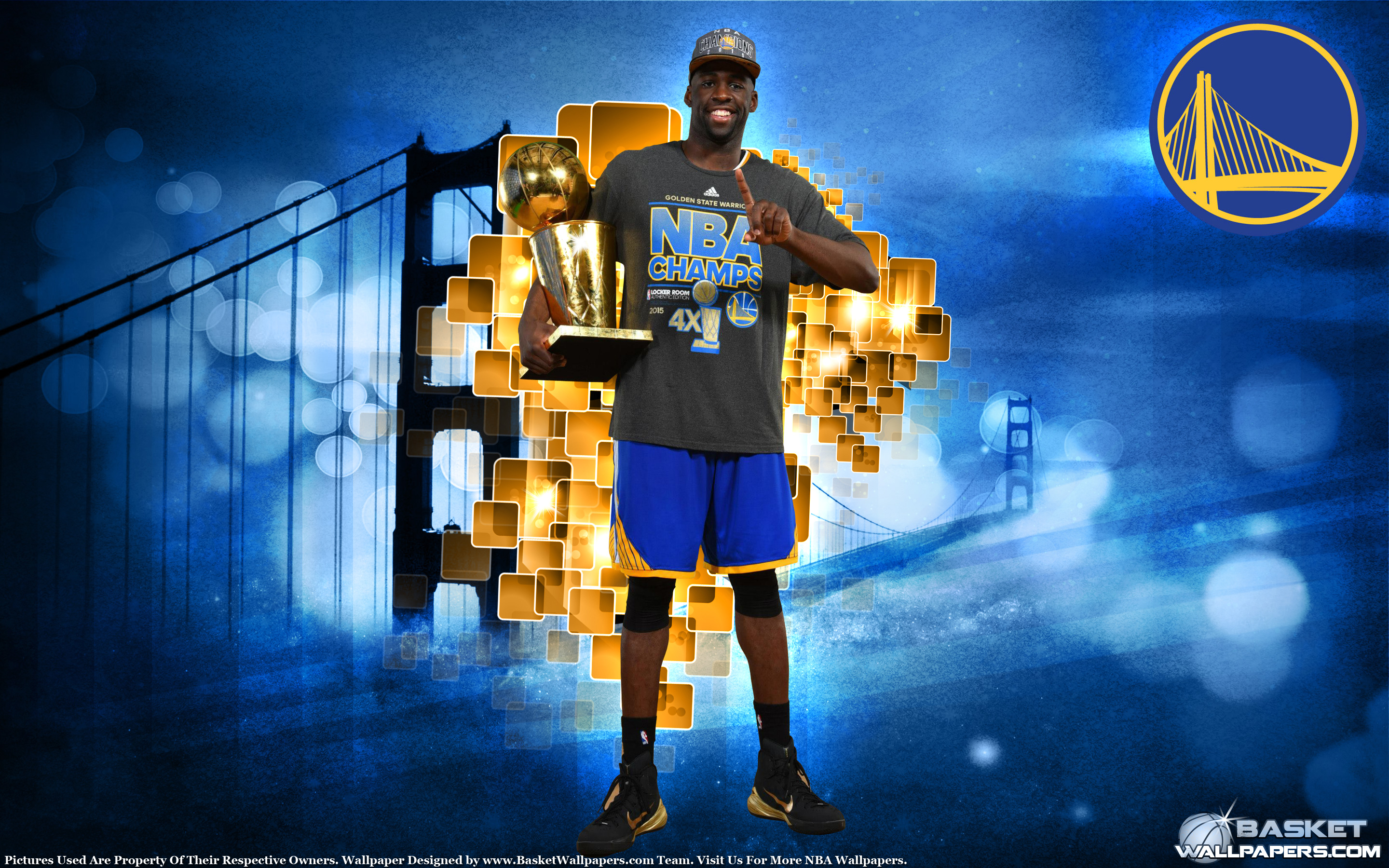 Draymond Green 2015 NBA Champion Wallpaper