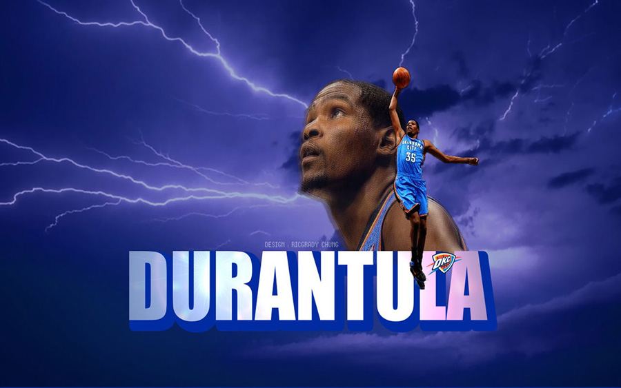 Durantula Slam Dunk Widescreen Wallpaper