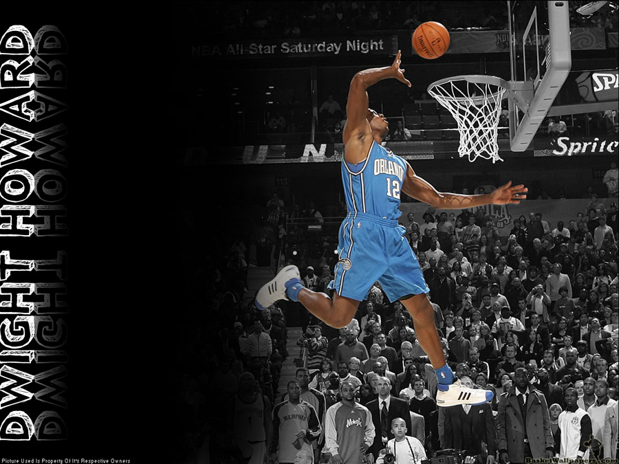 Dwight Howard All Star Slam Dunk 2008 Wallpaper