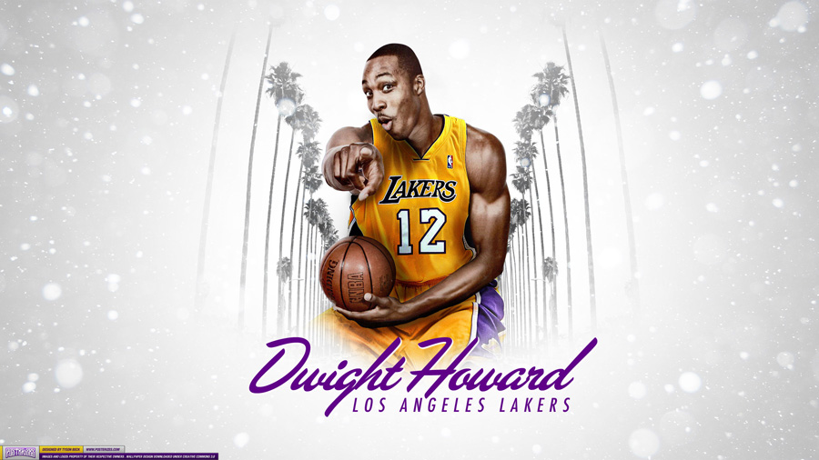Dwight Howard LA Lakers 2560x1440 Wallpaper