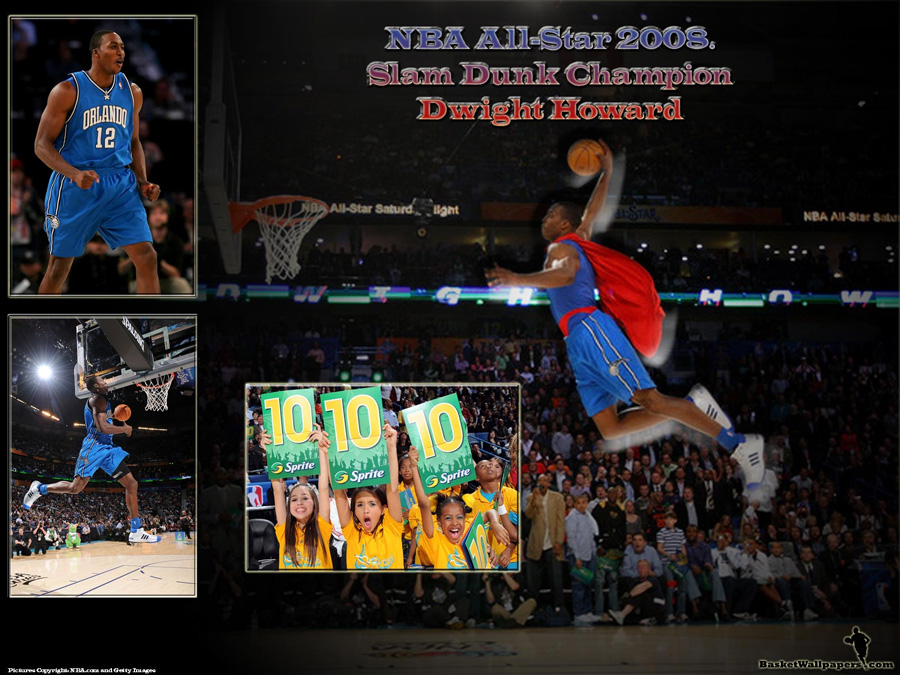 Dwight Howard Slam Dunk Champion 2008 Wallpaper