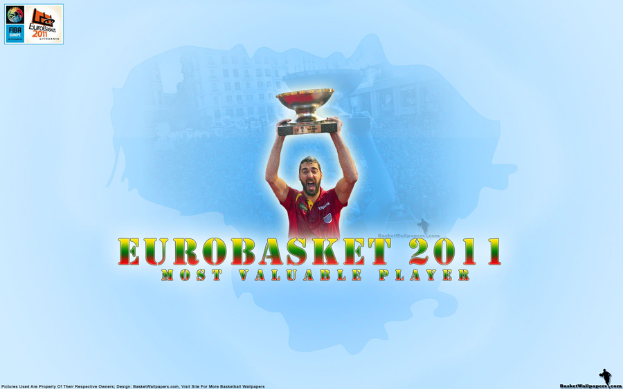 Spain National Basketball Team Wallpapers Eurobasket 2011 MVP Juan Carlos Navarro Wallpaper