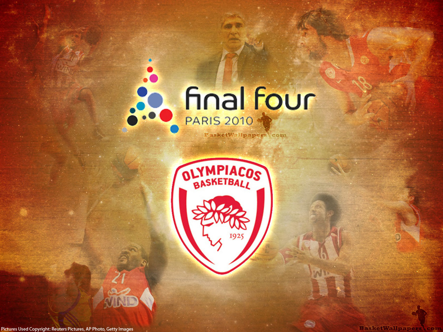 Euroleague 2010 Final Four Olympiacos Wallpaper