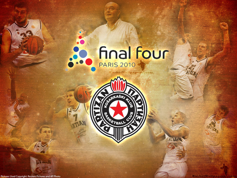 Euroleague 2010 Final Four Partizan Wallpaper