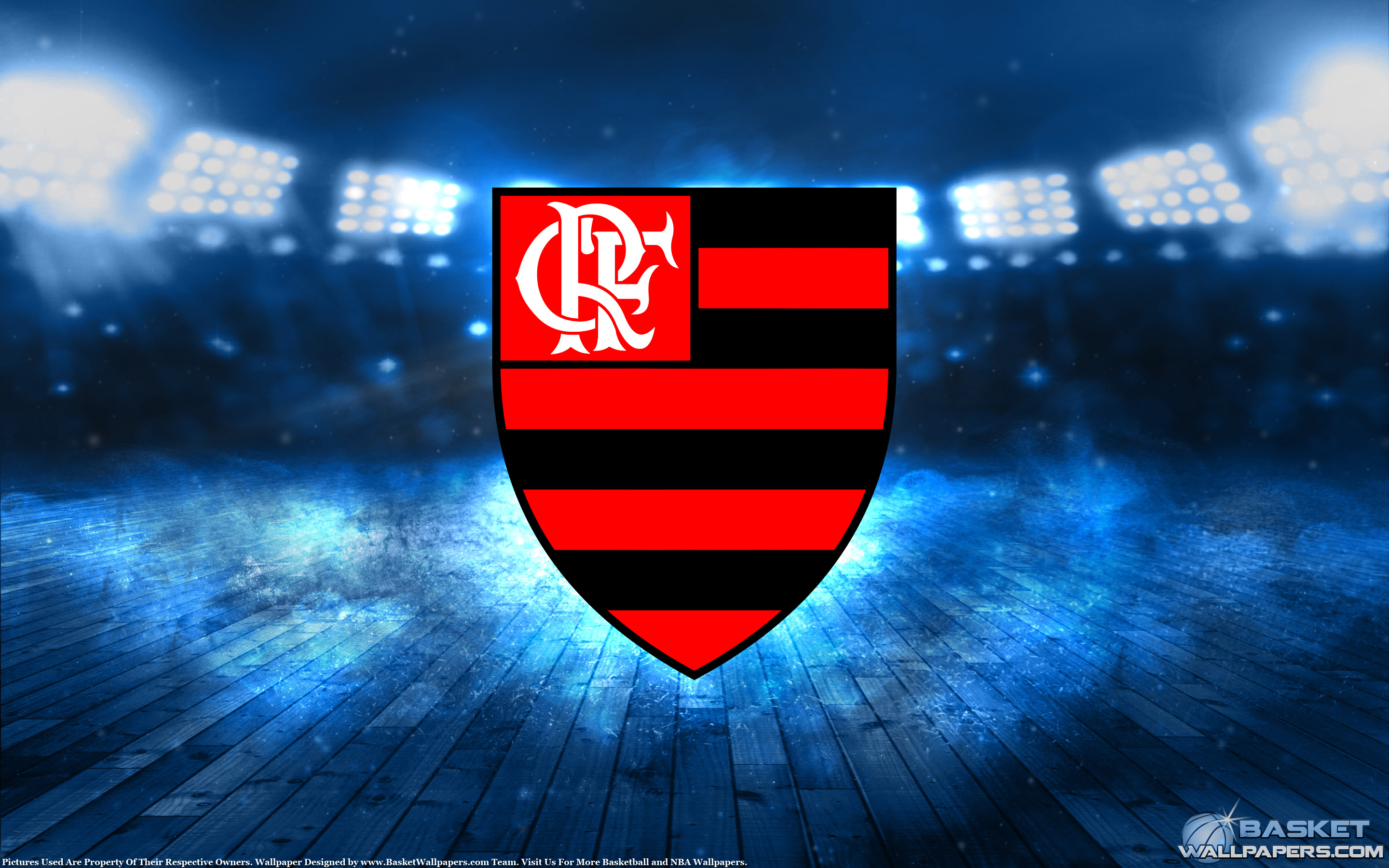 Flamengo Basketball 2015 Champions Wallpaper