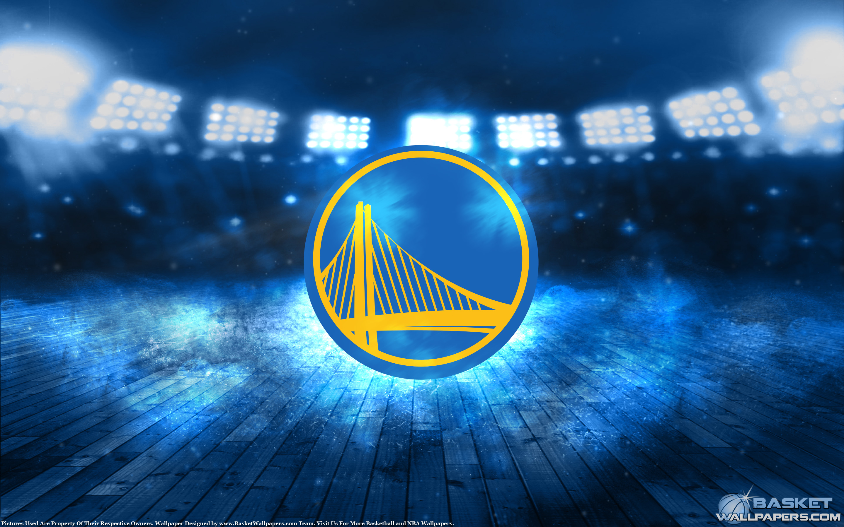 Golden State Warriors Logo 2880x1800 Wallpaper