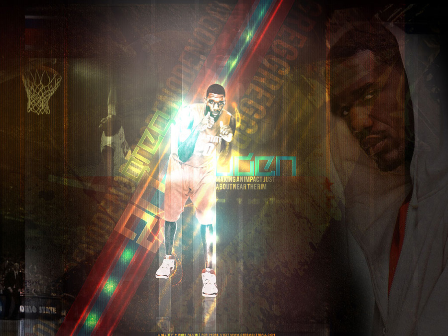 Greg Oden Fighter Wallpaper