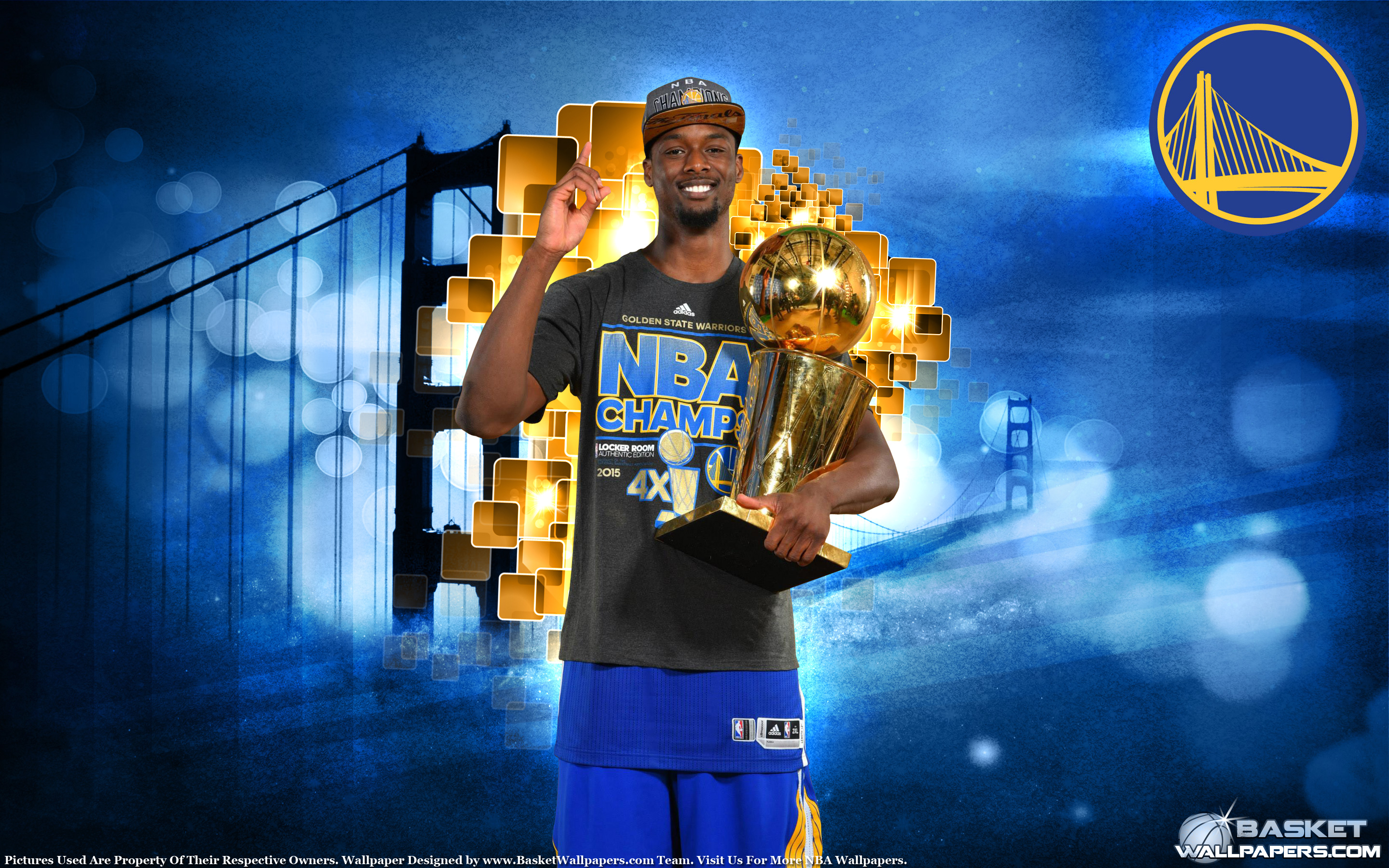 Harrison Barnes 2015 Nba Champion Wallpaper Basketball