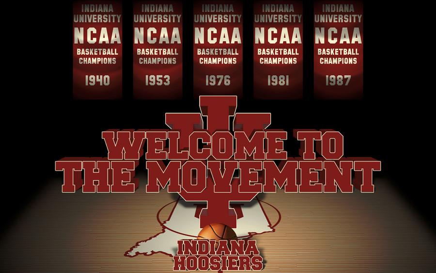 Indiana University Hoosiers 1680x1050 Wallpaper