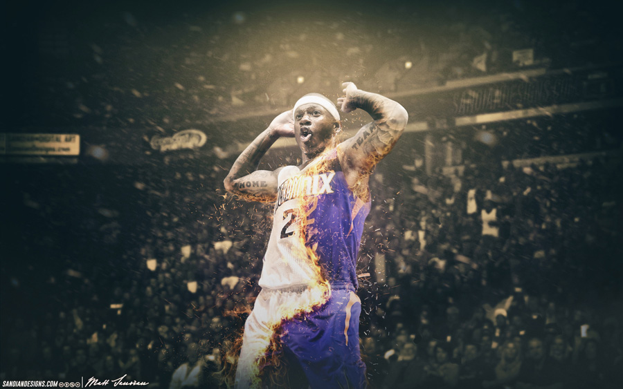 Isaiah Thomas Kings to Suns 2014 Wallpaper