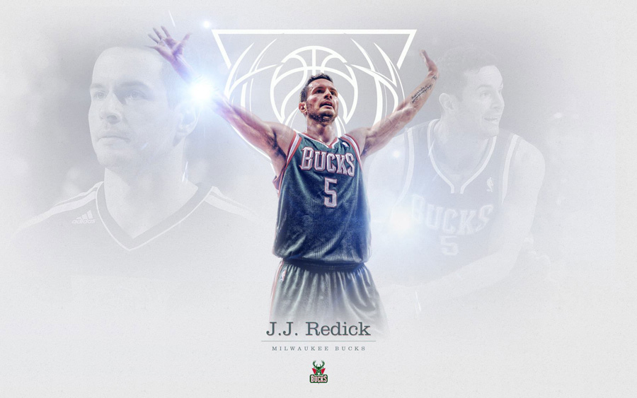 J. J. Redick Bucks 1920x1200 Wallpaper