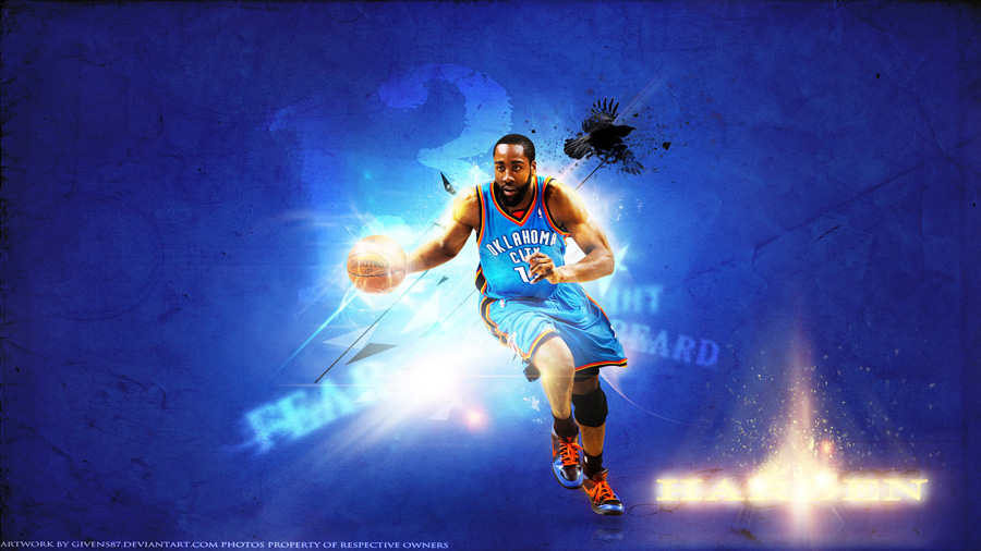 James Harden 2012 NBA Finals 1920x1080 Wallpaper