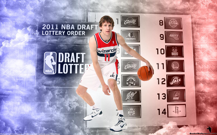 Jan Vesely Washington Wizards Jersey Widescreen Wallpaper