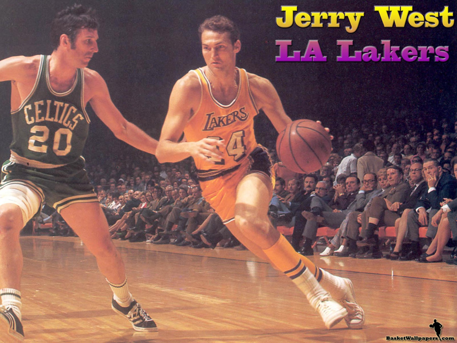 Jerry West LA Lakers Wallpaper